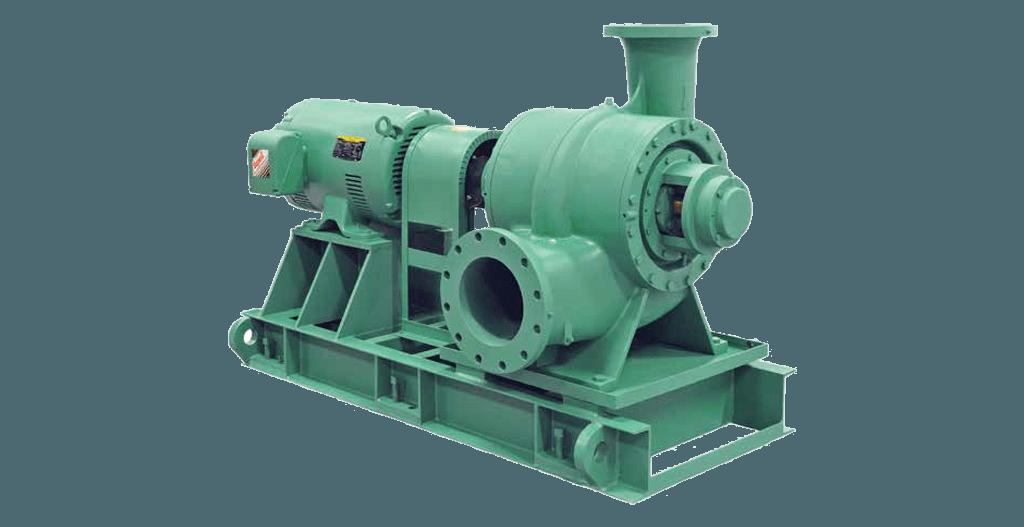 TS Series Single-Stage, Double Suction Vertical Split Case Pumps