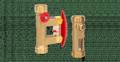 tacosetter inline and bypass balancing valves